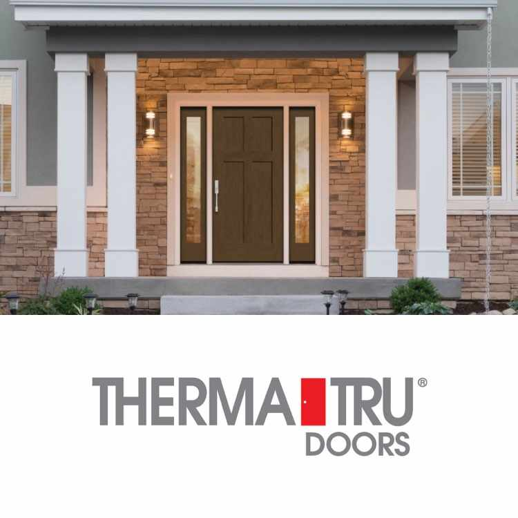 Thermatru Logo with a Door