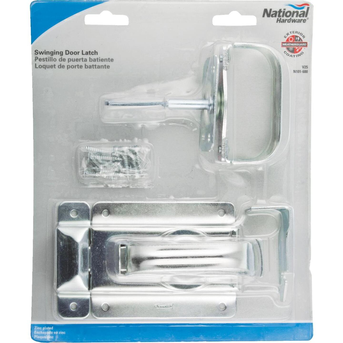 National Zinc Steel Swinging Door Latch Image 2