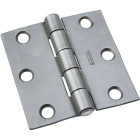 National 2-1/2 In. Steel Tight-Pin Broad Hinge Image 1