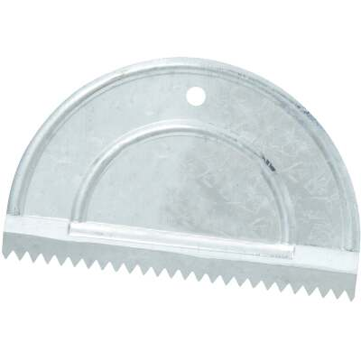 Do it 3/16 In. V-Notch Half Moon Adhesive Spreader