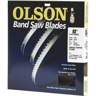 Olson 82 In. x 3/16 In. 10 TPI Regular Flex Back Band Saw Blade