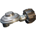 MR. HEATER 3/8 In. FPT x Coupling Nut Low Pressure 90 Deg Angle LP Low-Pressure Regulator Image 1