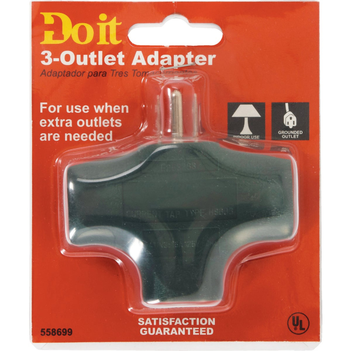 Do it Green 15A 3-Outlet Tap Image 2