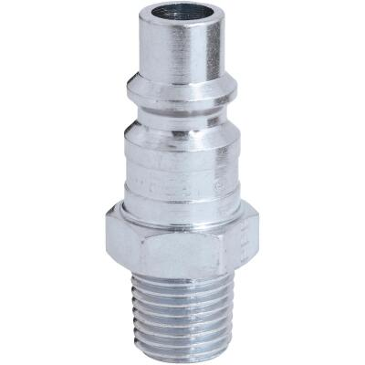 Milton 1/4 In. NPT H-Style Male Steel-Plated Plug