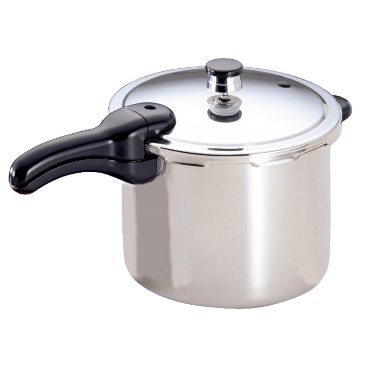 Presto 6 Qt. Stainless Steel Pressure Cooker Image 1